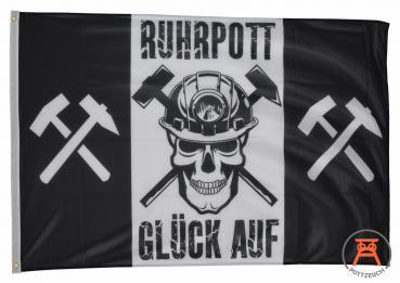 Fahne Ruhrpott Glück Auf