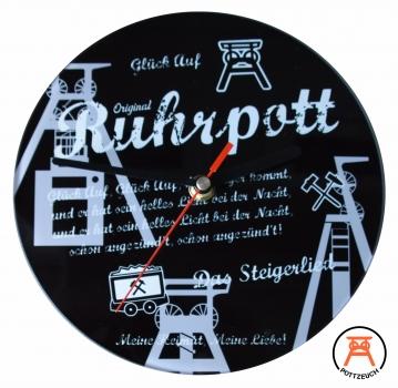 Glasuhr Ruhrpott Steiger